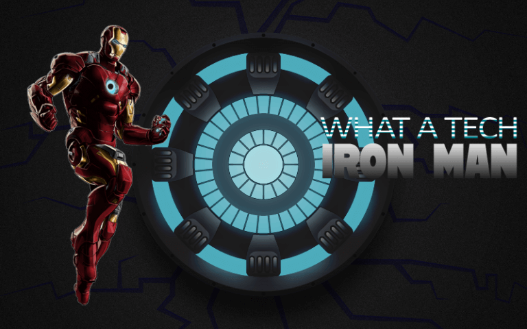 What a tech iron man