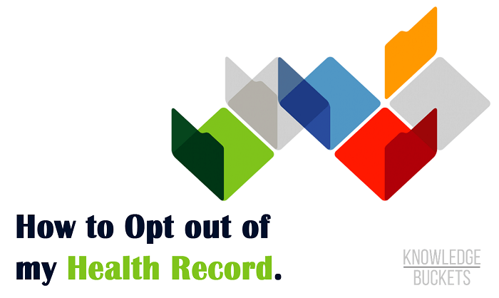 how to opt out of my health record